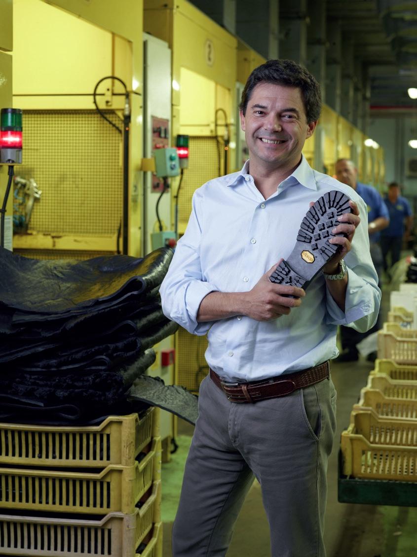 Paolo Manuzzi leitet das Familienunternehmen Vibram © Vibram