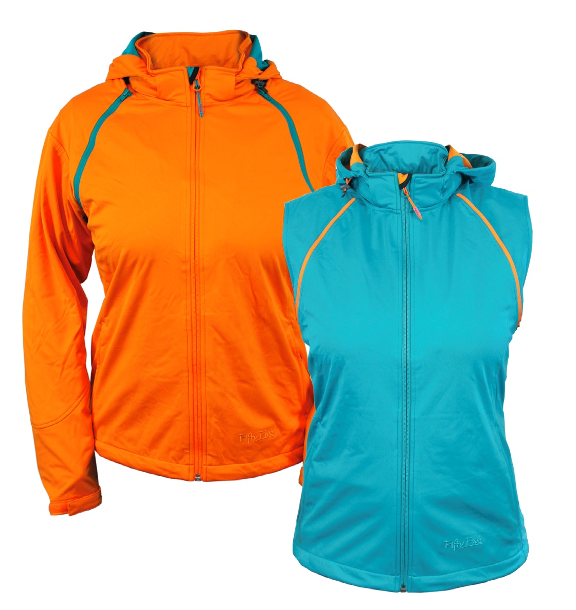 7 – FivtyFive Zipp-Off Softshell Damen