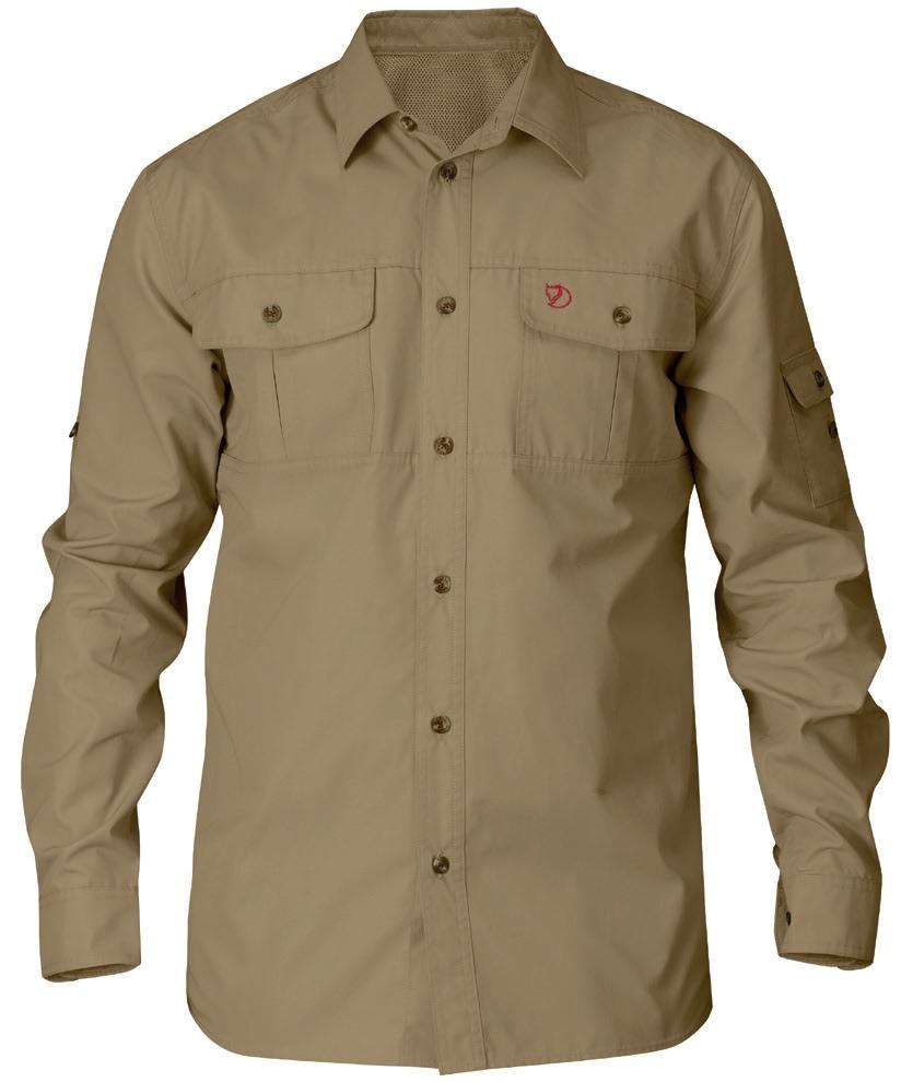 8 – Fjällräven Singi Trekking Shirt LS