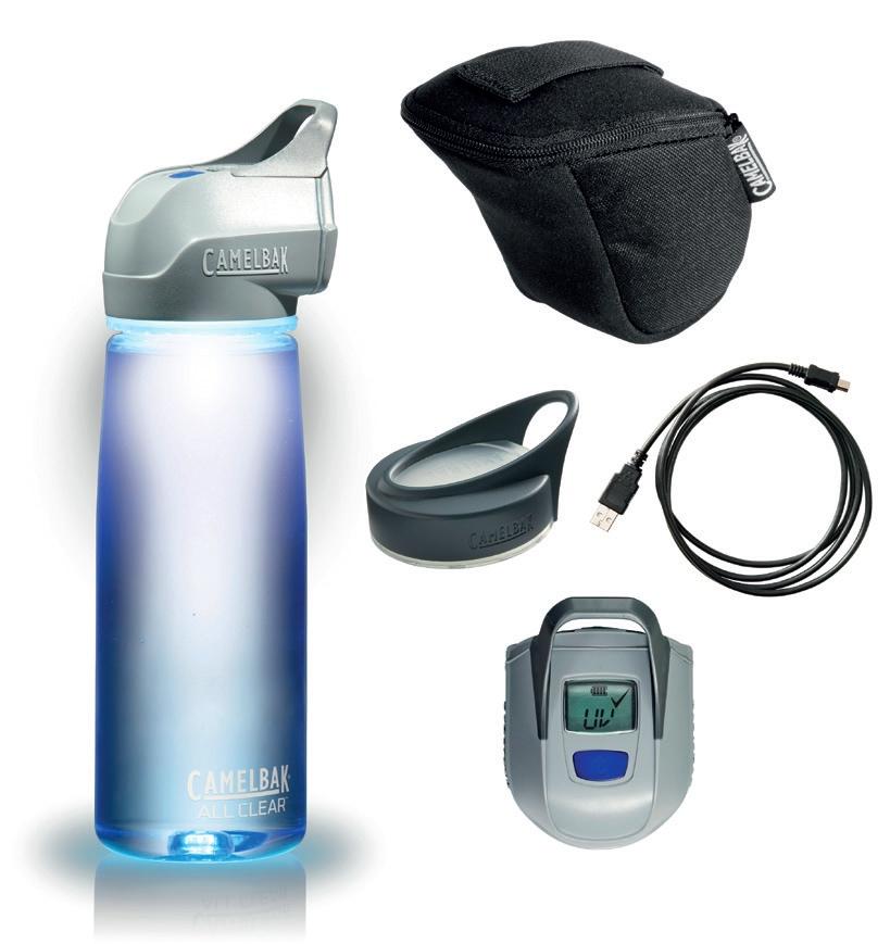 12 – CamelBak All Clear UV-Purifier Flasche
