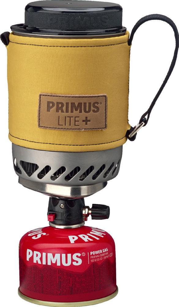 2 – Primus Lite  Kocher mit Kaffeepresse
