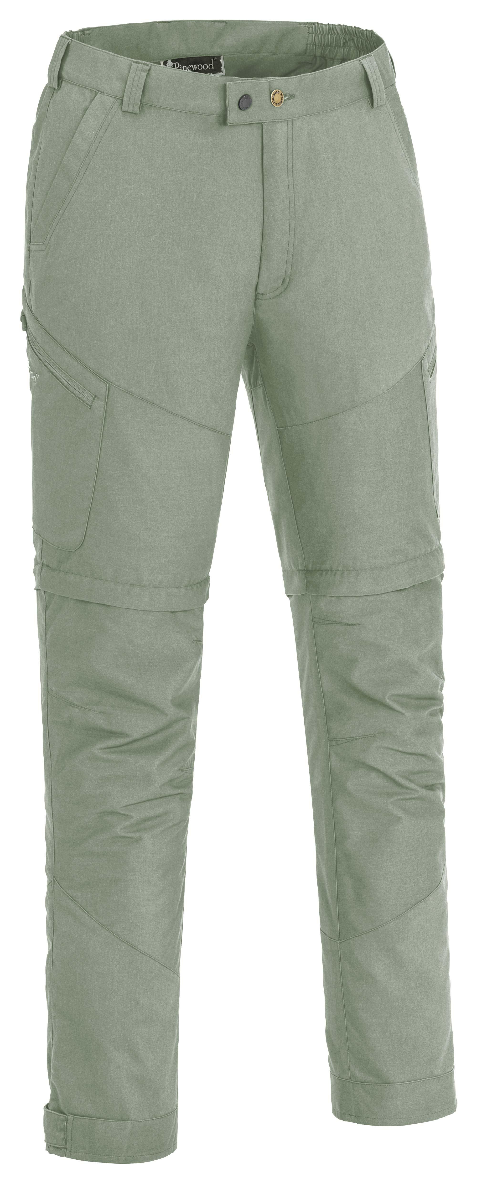 Langlebige, wasserabweisende und bügelfreie Zip-off Hose, Tiveden TC-Stretch © Pinewood